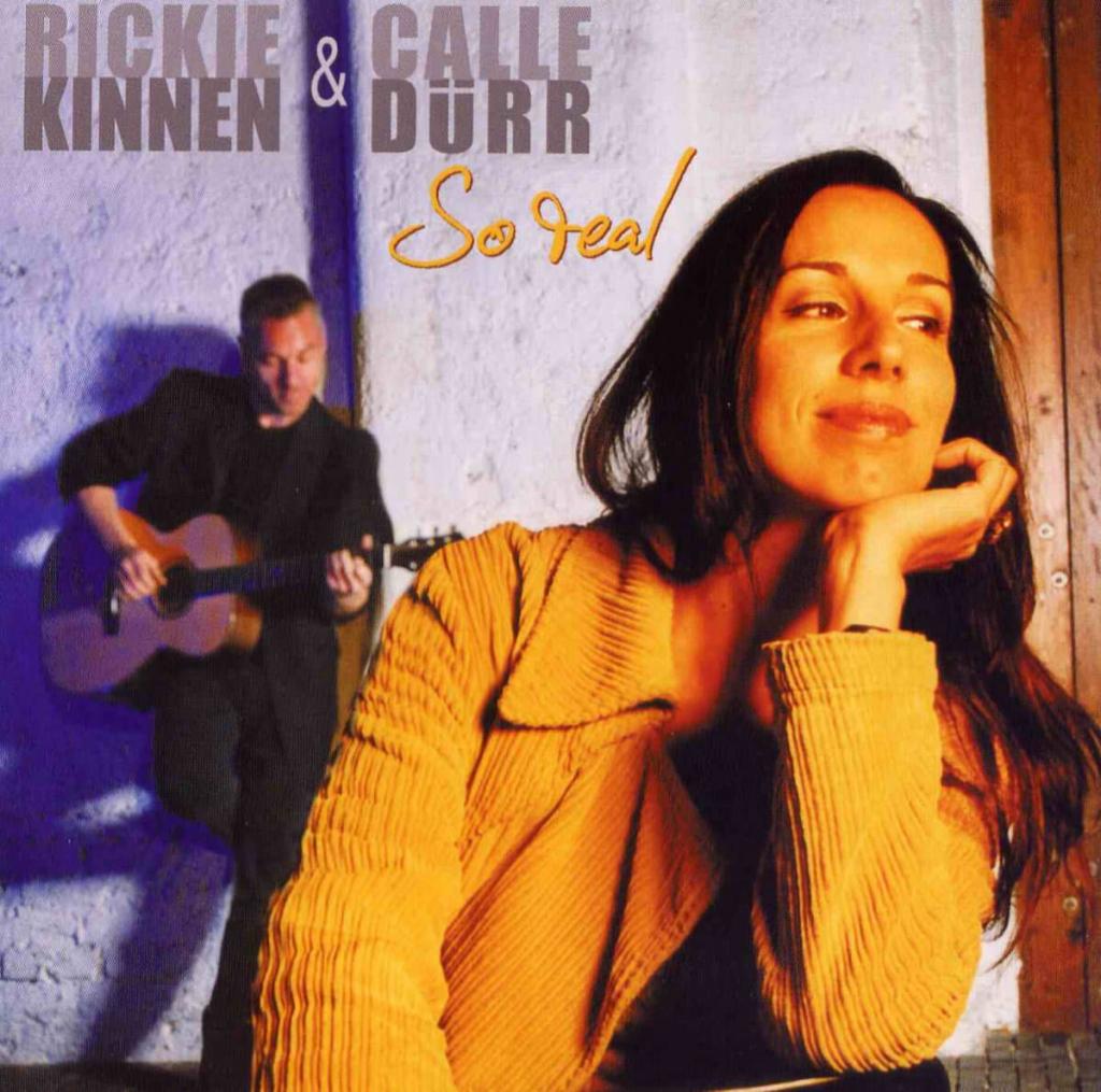 CD Cover - Rickie Kinnen - Calle Duerr - So Real
